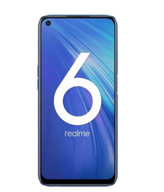 Смартфон Realme 6 4+128GB по скидке в магазине М.Видео!
